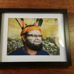 Bunna in picture frame